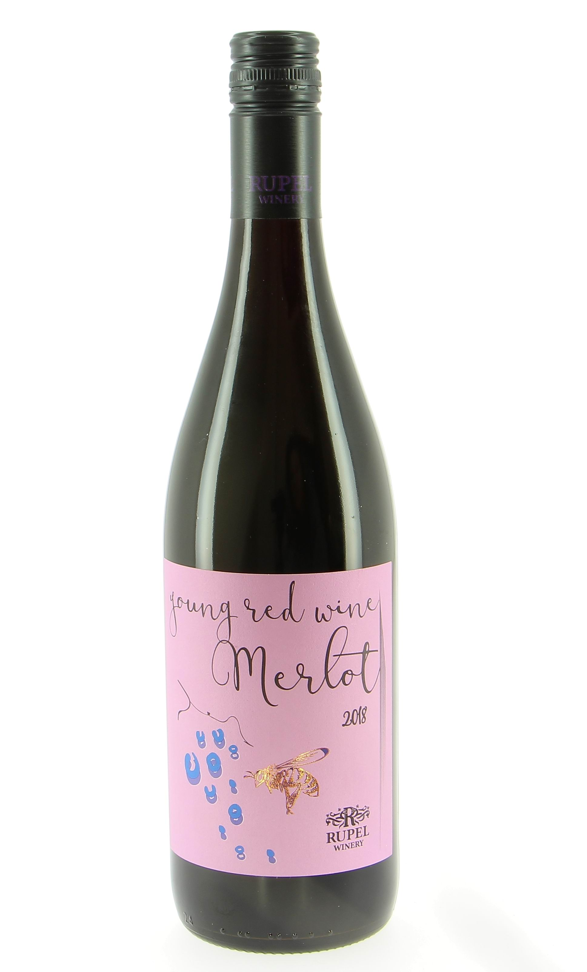 Red Young Wine Merlot 2018